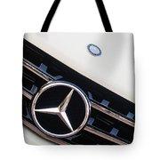 Mercedes-benz Emblem - Grille Logo -0030c Tote Bag