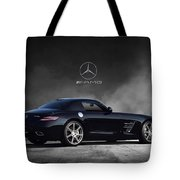 Mercedes Benz Sls Amg Tote Bag
