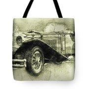 Mercedes-benz Ssk 1 - 1928 - Automotive Art - Car Posters Tote Bag