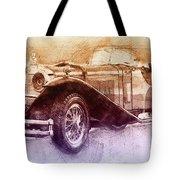 Mercedes-benz Ssk 2 - 1928 - Automotive Art - Car Posters Tote Bag