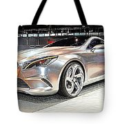Mercedes Benz Style Coupe Concept Number 2 Tote Bag