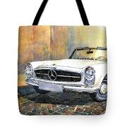 Mercedes Benz W113 280 Sl Pagoda Front Tote Bag