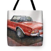 Mercedes Benz W113 Sl280 Tote Bag