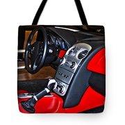 Mercedes Slr Concept Car Interior Tote Bag