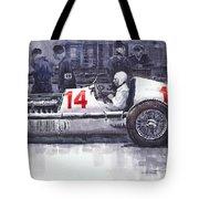 Mercedes W25c Monaco Gp 1936 Manfred Von Brauchitsch Tote Bag