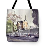 Mercer's Godsey Building Tote Bag
