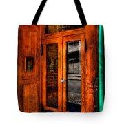 Merchants Cafe Doors Tote Bag