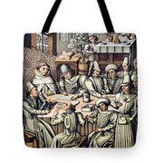 Merchants Paying Taxes Tote Bag