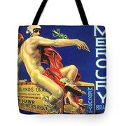 Mercury Greek God Label Tote Bag