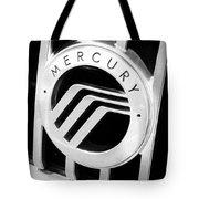 Mercury In Black And White Tote Bag