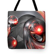 Mercury Rising Abstract Tote Bag