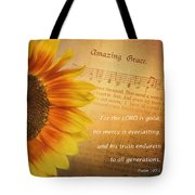 Mercy And Grace Tote Bag