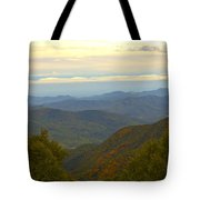 Mercy Me- A Fall View Of Craggy Gardens Nc Tote Bag