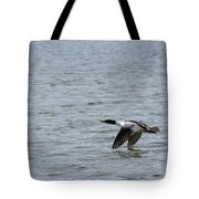 Merganser Duck Tote Bag