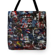 Merica Tote Bag by Chaline Ouellet