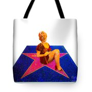 Merilyn Monroe Tote Bag