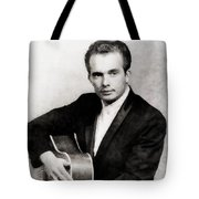Merle Haggard, Music Legend By John Springfield Tote Bag