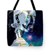 Merlin In The Cosmos Tote Bag