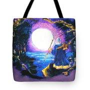 Merlin's Moon Tote Bag