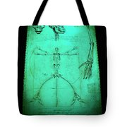 Mermaid Anatomia Tote Bag