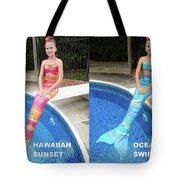 Mermaid Costume For Kids In Canada Tote Bag