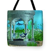 Mermaid Home Tote Bag