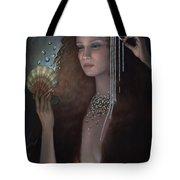 Mermaid Tote Bag by Jane Whiting Chrzanoska