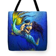 Mermaid Kiss Tote Bag