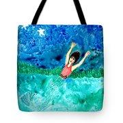 Mermaid Metamorphosis Tote Bag