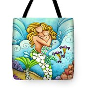 Mermaid Mom Tote Bag