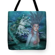Mermaid Of The Deep Sea 2 Tote Bag