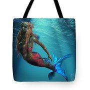 Mermaid Of The Ocean Tote Bag