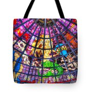 Mermaid Stained Glass Art  Tote Bag