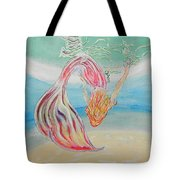 Mermaid Summer Salt Tote Bag