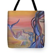 Mermaid Tears Tote Bag
