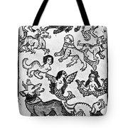 Mermaids, 1475 Tote Bag