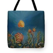 Mermaids' Blink Tote Bag