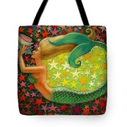 Mermaid's Circle Tote Bag