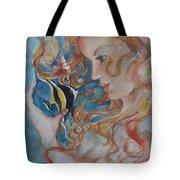 Mermaids Kiss Tote Bag
