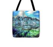 Mermaids Of Rovinj Tote Bag