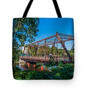 Merriam Street Bridge Tote Bag