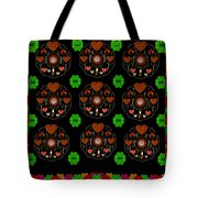 Merry And Happy  Candy With Flair Tote Bag