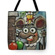 Merry Chrismouse Tote Bag