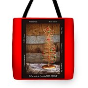 Merry Christmas Tote Bag by Holly Kempe