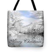 Merry Christmas - Lykens Reservoir Tote Bag