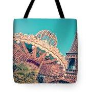 Merry Go Paris Tote Bag by Delphimages Photo Creations