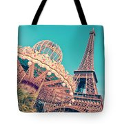 Merry Go Paris Tote Bag