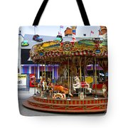 Merry-go-round At The Prater Tote Bag