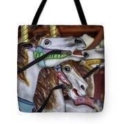 Merry Go Round Horses Tote Bag