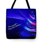 Merry Little Christmas Card 2017 Tote Bag